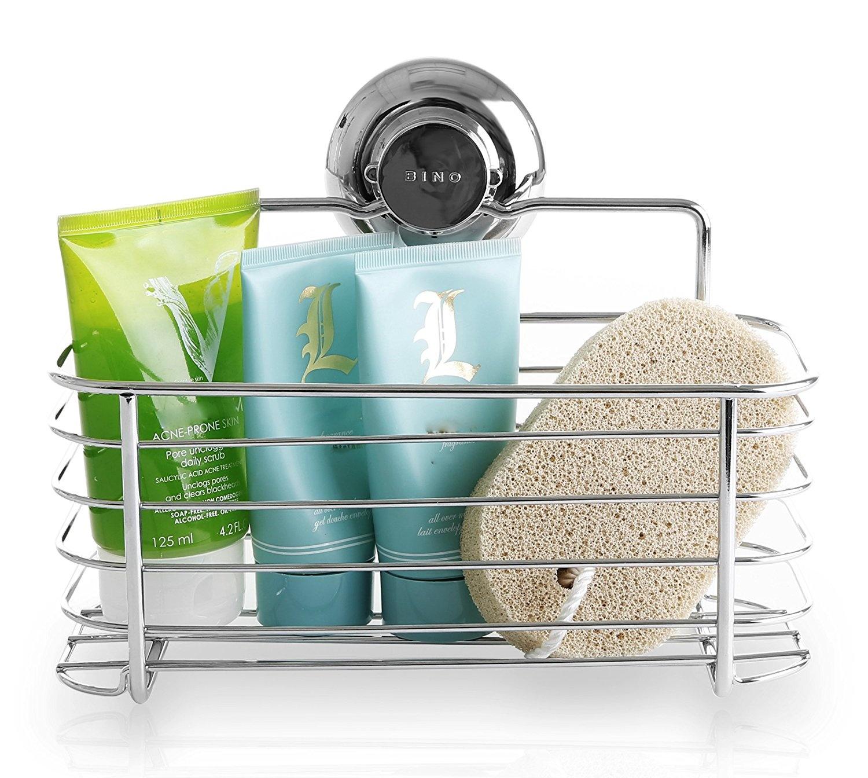 Fine Chrome Corner Shower Basket Photo - Bathtub Ideas - dilata.info