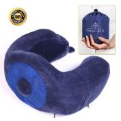NEW MULTI-FUNCTION DESIGN U - Shaped Travel Pillow - Best Memory Foam Travel Neck Pillow - Ideal For Sleeping, Driving, Flights, Work & More - Contour Neck Pillow For Men & Women