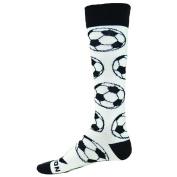 Red Lion Match Soccer Ball Knee High Socks