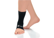 Copper Compression Recovery Ankle Sleeve, GUARANTEED Highest Copper Content. Infused Fit Ankle Support Brace / Wrap / Sock / Stabiliser For Men And Women. Wear Anywhere