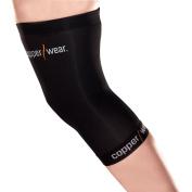 Copper Wear Compression Knee Sleeve, Large