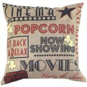 Susenstone® Vintage Christmas Letter Sofa Bed Home Decoration Pillow Case