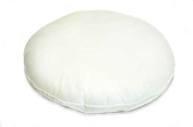 50cm Round Cluster Fibre Pillow Form Insert Hypo-allergenic Made in USA
