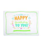 Demdaco Birthday Pillow Case