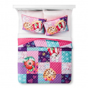 Shopkins Twin Quilt and Sham