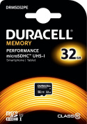 Duracell Performance 32 GB MicroSDHC Class 10 UHS-I Memory Card
