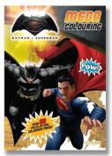 Batman vs Superman Mega Colouring Book