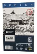 HYACINTH Sketch Book, 80 lb./130G, 30 Sheets