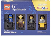 """LEGO Cops & Robbers Minifigure Collection Exclusive Toys """"R"""" Us Bricktober 4-pack"""