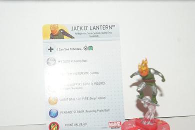 Marvel Heroclix Civil War Jack O' Lantern Uncommon 020