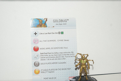 Heroclix Marvel Civil War #035 common Goldbug