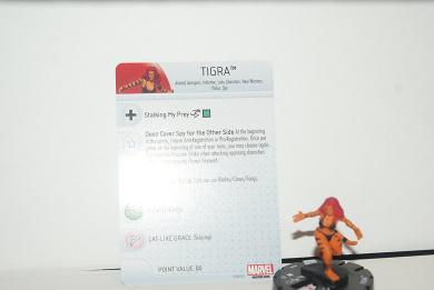 Marvel Heroclix Civil War Set #040 Tigra Common Figure