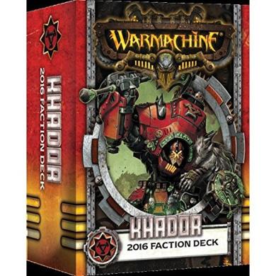 Warmachine: Khador Faction Deck Box (MKIII)