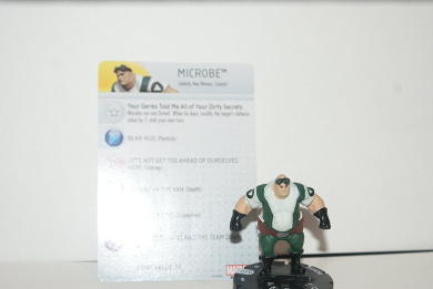 Marvel Heroclix Civil War Microbe Uncommon 036