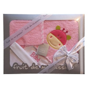 Birth Gift Set of Baby Bath 5 Piece Quality Made in Europe - Choice of Colours