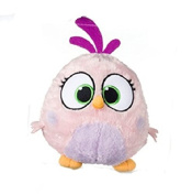 ANGRY BIRDS 'HATCHLINGS' SOFT PLUSH TOY - PINK