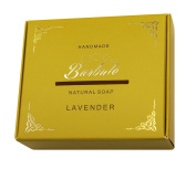 High Quality Handmade Natural Organic Soap Bar LAVENDER Made From Plant Oils 100g