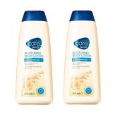 Avon Care Family Nurturing Body Lotion Sensitive Skin 400ML x 2