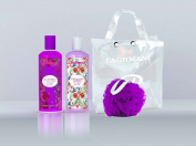 "Fine Perfumery ""Laghmani Purple"" Gift Set Body Lotion & Shower Gel Ideal for Christmas/Birthday Present"
