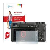 3x Vikuiti MySafeDisplay Displayschutzfolie DQCT130 von 3M für Sony Alpha 6500