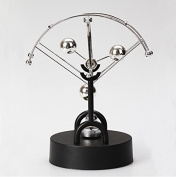 Fashionclubs Kinetic Electronic Perpetual Motion Wiggler Ball Desk Sculpture Art Toy