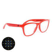 Diffraction Glasses - Red