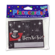 JT Party Supplies New Year's Placecards - 36 Pack
