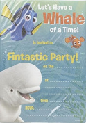 Finding Dory Pack Of 20 Party invites With Envelopes