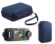 Navitech Dark Blue Hard Protective Carry Case for the Nextbase / Next Base Duo & iNCarCam 402G