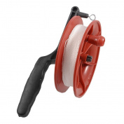 Generic Dcolor 100M Twisted String Line Red Wheel Kite Reel Winder