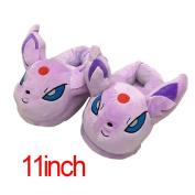 Pokemon Espeon Stuffed Plush Slipper Home Decoration Adult Shoes