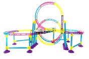 PowerTRC® High Speed Roller Coaster Bullet Train Toy Building Set