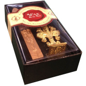 """JAM Paper® Wax Seal Set - Brass Seal Stamp with Monogram letter """"N"""" & Wax Stick - Sold Individually"""
