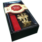 """JAM Paper® Wax Seal Set - Brass Seal Stamp with Monogram letter """"I"""" & Wax Stick - Sold Individually"""