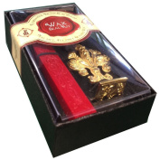 "JAM Paper® Wax Seal Set - Brass Seal Stamp with Monogram letter ""S"" & Wax Stick - Sold Individually"