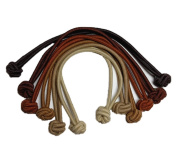 Knotted Hair Tie Set of 6 // great for natural hair, dreadlocks and thick hair