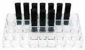 BS-MALL Premium Acrylic Lipstick Organiser Holder,36 Space Storage