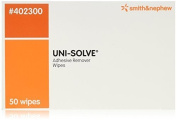 Uni-Solve Adhesive Remover Wipes by Smith and Nephew, Model No - 402300 - 50 ea by Unisolve
