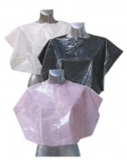 Agenda Marketing Disposable Shoulder Capes Pk 100 Black