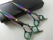 Perfessional Salon Stylist Barber Hair Cutting Scissors Hair Thinning Scissors Set Hair Cutting Scissors Shears 15cm