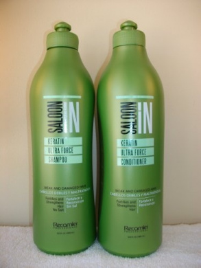 Saloon in Keratin Ultra Force Shampoo & Conditioner Set 310ml Sizes by SALOON IN