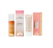 Pacifica Ultra CC Cream Radiant Foundation (Natural/Medium) and Pacifica Alight Multi Mineral BB Cream Bundle with Damascus Rose and Coconut Oil, 30ml each