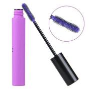 Gleader Purple Mascara Long Lengthening Volume Curl Eyelash Grower Makeup Cosplay