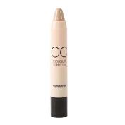 Concealer Pen - M.N Face Makeup CC Colour Corrector Blemish Concealer Cream Base Palette Pen concealer Stick Cosmetic -01# Highlighter