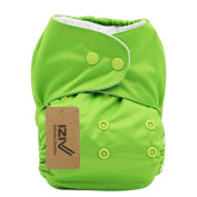 iZiv(TM) Newborn Nappy with 1 Thick Insert Infant Waterproof/Adjustable/Reusable/Washable Pocket Cloth Nappy Fit Babies 0-3 Years