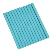 GlueSticksDirect Turquoise Coloured Glue Sticks mini X 10cm 12 Sticks
