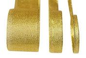 Metallic Lurex Ribbon 1cm Gold 25 Yards one roll