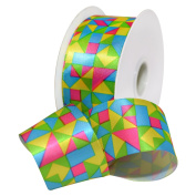 Go Pop Tango Lime Ribbon 3.8cm . x 3.7m Decorative Ribbon - Great for Any Occasion!