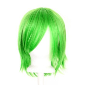Ren - Lime Green Wig 30cm Short Flare Cut