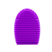 colour CLEANER Brush Cleaner Egg Glove, Silica Glove Scrubber Board, Makeup Brushes Cleaning Washing Tool